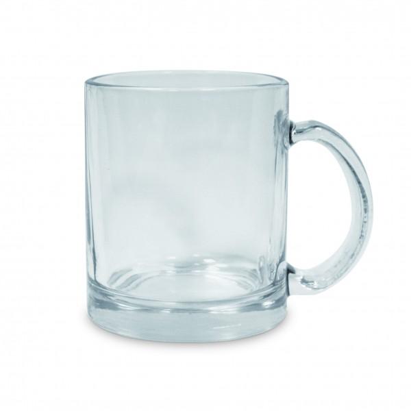 Glastasse Clara Durchblick aus Glas